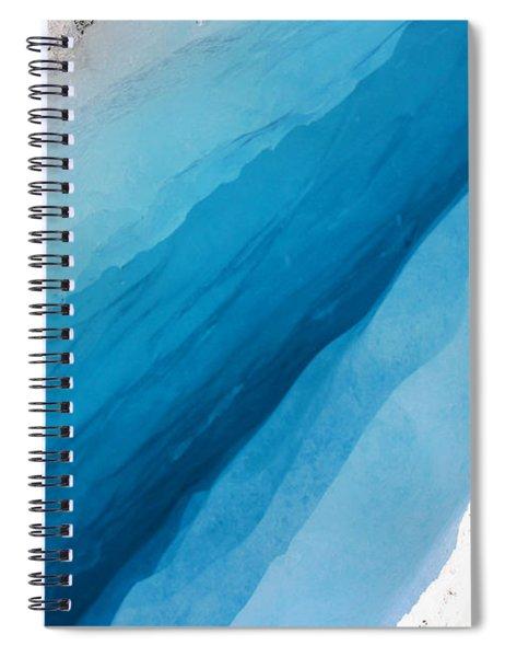 Glacial Rift Spiral Notebook