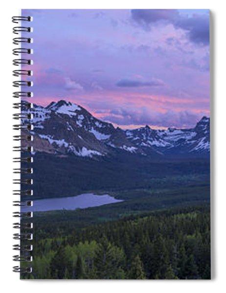Glacier Glow Spiral Notebook