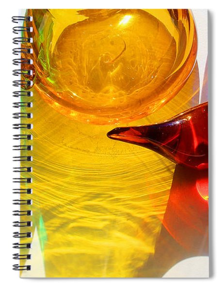 Glass Reflections #8 Spiral Notebook