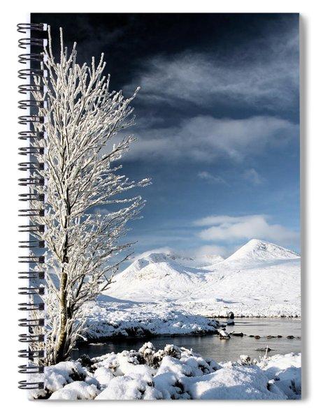 Glencoe Winter Landscape Spiral Notebook