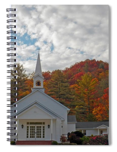 Glenville In Autumn  Spiral Notebook