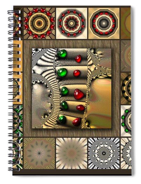 Glimmering Afternoon Redux Spiral Notebook