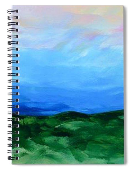 Glimpse Of The Splendor Spiral Notebook
