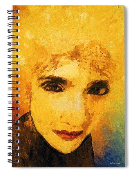 Glorious Crone Spiral Notebook