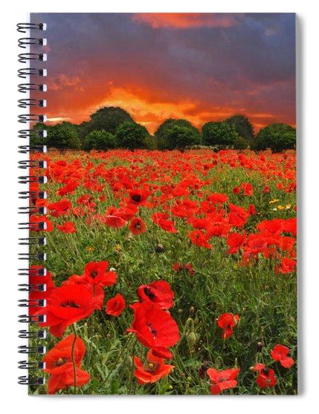 Glorious Texas Spiral Notebook