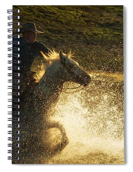 Go Cowboy Spiral Notebook