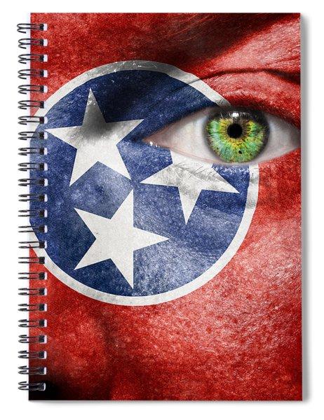 Go Tennessee Spiral Notebook