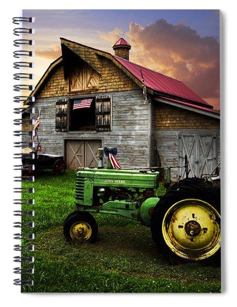 God Bless America Spiral Notebook