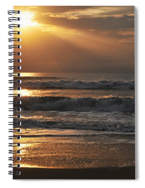 God's Rays Spiral Notebook