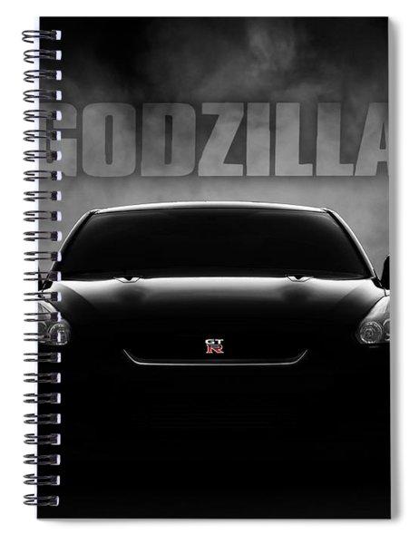 Godzilla Spiral Notebook