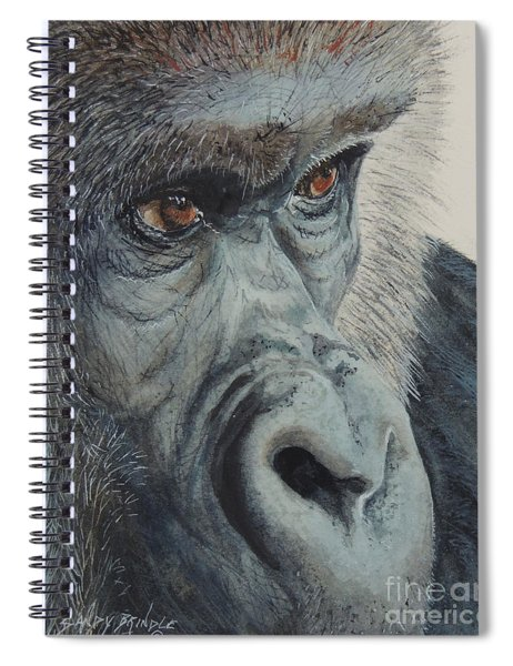 Going Ape...sold  Spiral Notebook