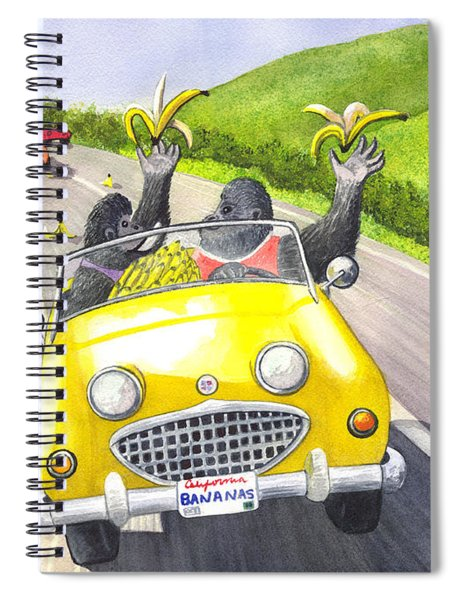 Going Bananas Spiral Notebook