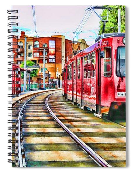 Going To Gillespie Field By Diana Sainz Spiral Notebook
