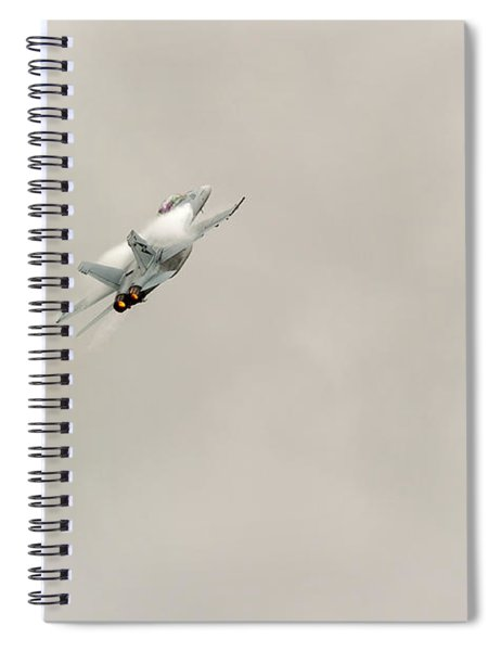 Going Vertical Spiral Notebook