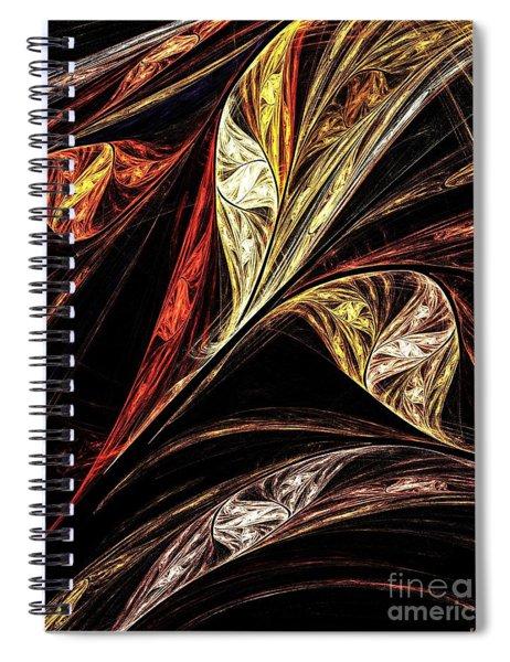 Gold Leaf Spiral Notebook