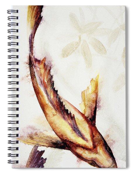 Gold Mangrove  Spiral Notebook