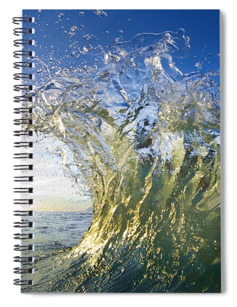 Gold Crown Spiral Notebook
