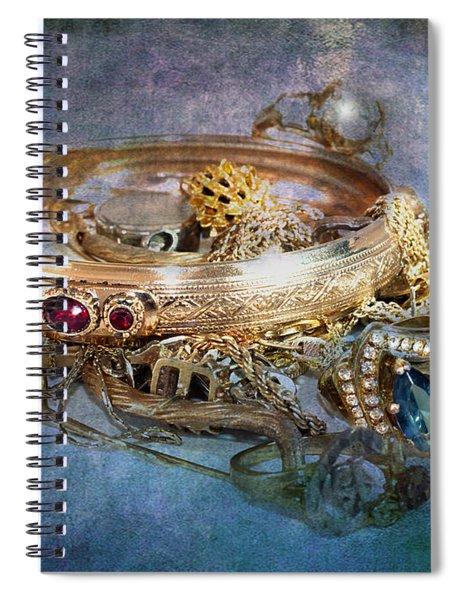 Gold Treasure Spiral Notebook