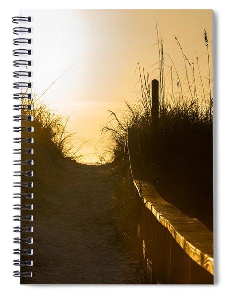 Golden Beach Access Spiral Notebook