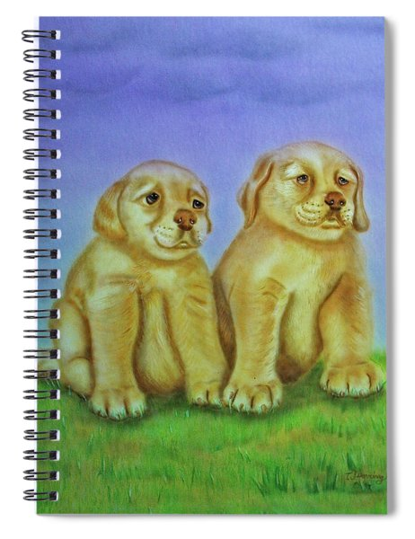 Golden Retriever Spiral Notebook