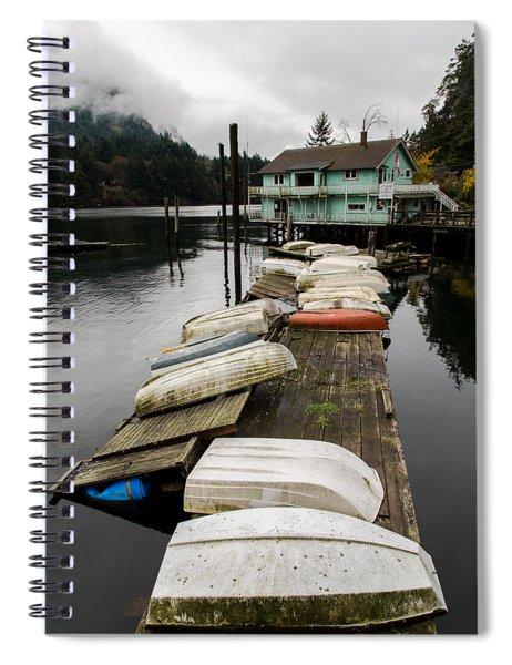 Goldstream Marina Spiral Notebook
