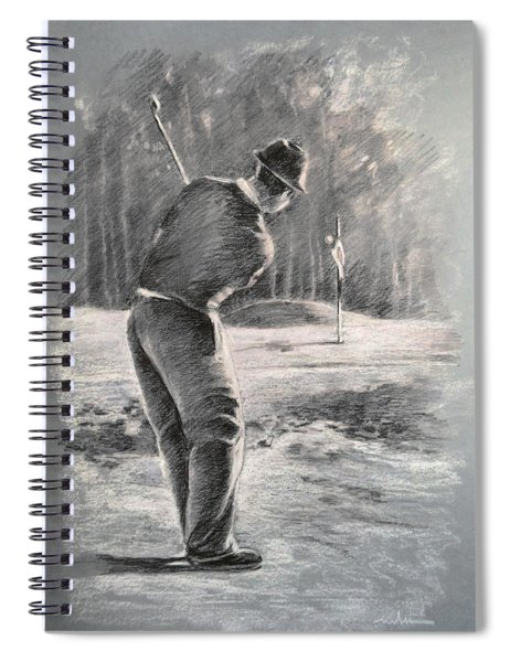 Golf Chip Spiral Notebook