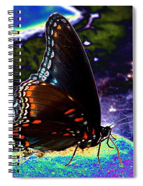 Gona-fly-butterfly Spiral Notebook