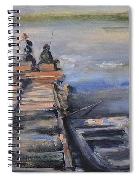 Gone Fishin' Spiral Notebook