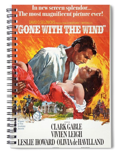 Gone With The Wind - 1939 Spiral Notebook