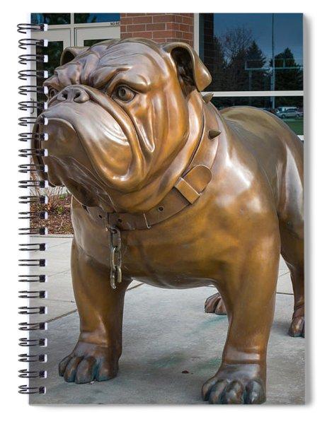 Gonzaga Bulldog Spiral Notebook