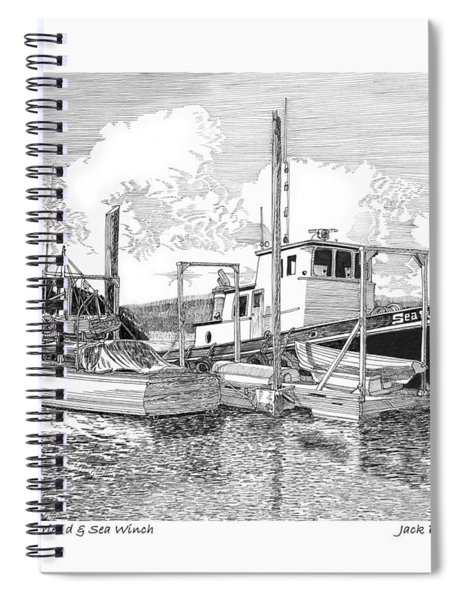 Plumbers Friend And Sea Winch Spiral Notebook
