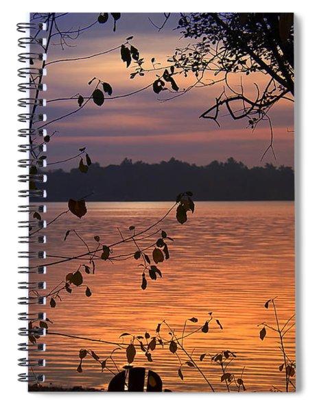 Goodnight Lake Spiral Notebook
