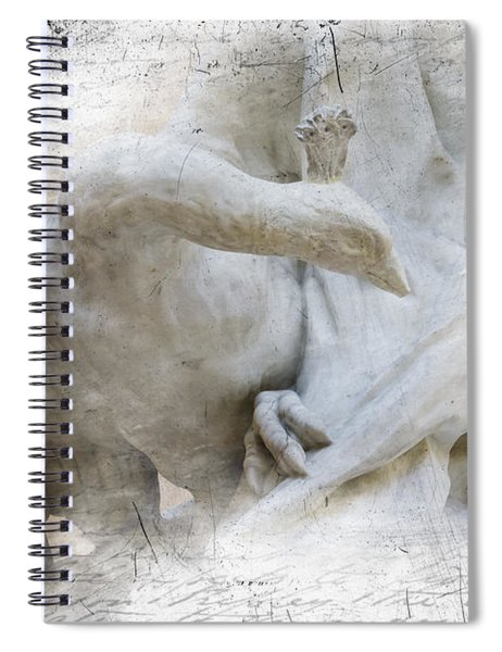 Goose With Master Spiral Notebook