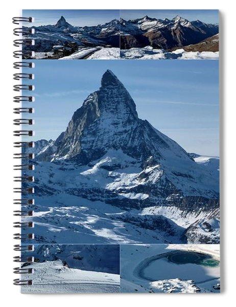 Gorgeous Matterhorn  Spiral Notebook