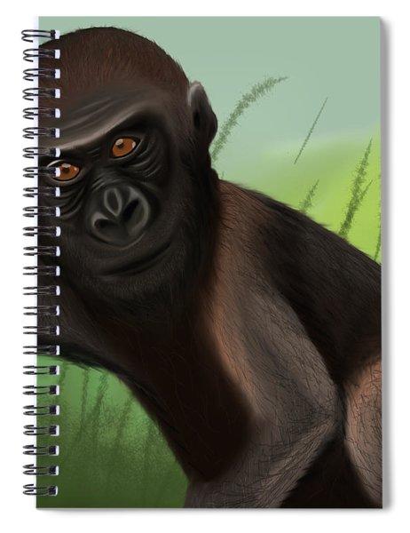 Gorilla Greatness Spiral Notebook