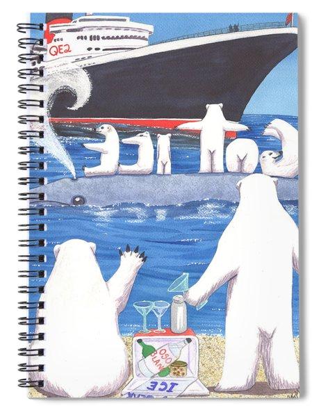 Got Ice Spiral Notebook