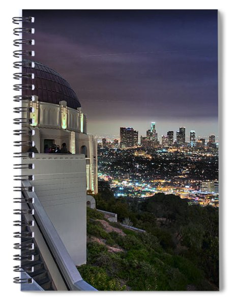 Gotham Griffith Observatory Spiral Notebook