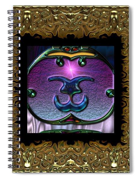 Gothic Frieze Four  Spiral Notebook
