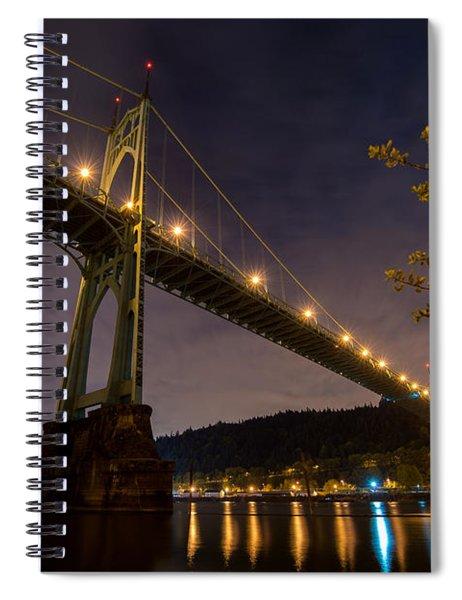Gothic Sentries Spiral Notebook