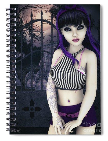 Gothic Temptation Spiral Notebook