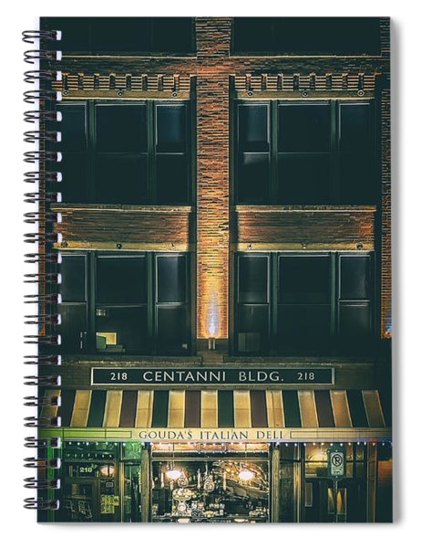 Goudas Italian Deli Color Spiral Notebook