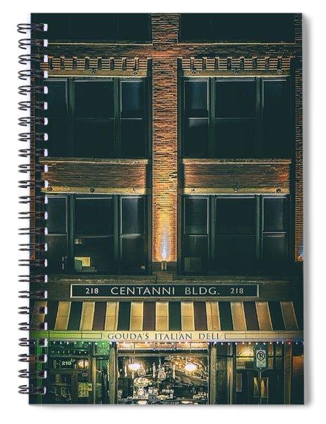 Goudas Italian Deli Color Spiral Notebook