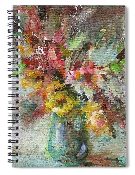 Grace And Beauty Spiral Notebook