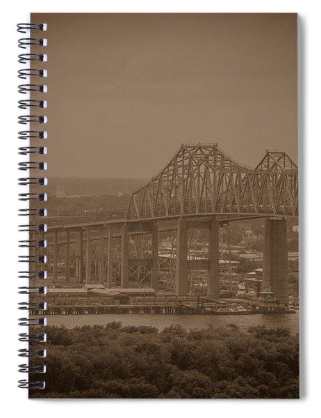Grace And Pearman Bridges Spiral Notebook