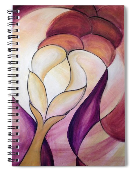 Grace In Plenty Spiral Notebook