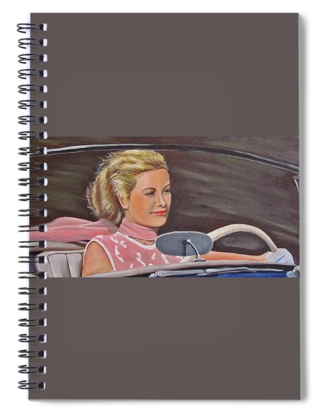 Grace Kelly - To Catch A Thief Spiral Notebook
