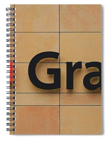 Grady Hospital Atlanta Georgia Art Spiral Notebook