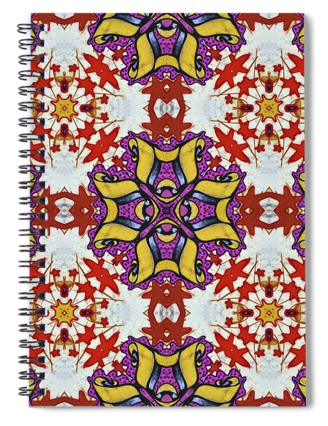 Graffito Kaleidoscope 40 Spiral Notebook