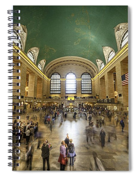 Grand Central Rush Spiral Notebook