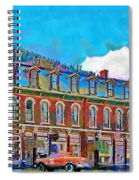 Grand Imperial Hotel Spiral Notebook